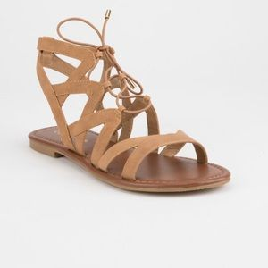 Tilly's City Classified Strappy Ghillie Sandal